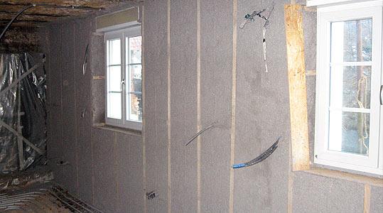 Isolation murs interieurs maison je plaque une rgle - Isolation murs interieurs maison ...